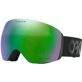 Oakley Flight Deck Lunettes de protection Homme, black/w prizm jade iridium